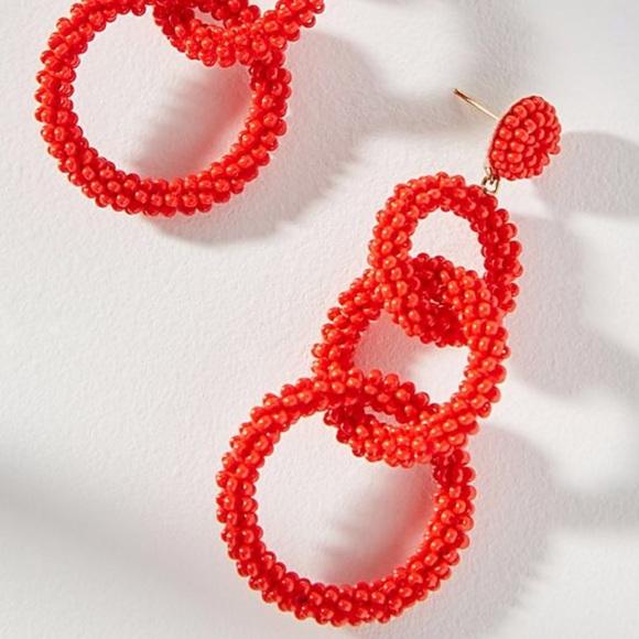5acf1f27c Anthropologie Jewelry | Lyla Beaded Drop Earrings | Poshmark